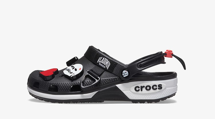 Crocs x Vladimir Cauchemar Design Clog