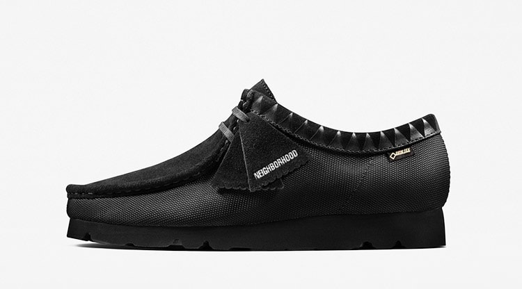 Clarks Originals x Neighborhood Wallabee Gore-Tex