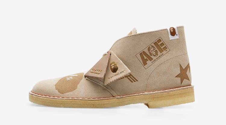 Clarks Originals x A Bathing Ape Desert Boot