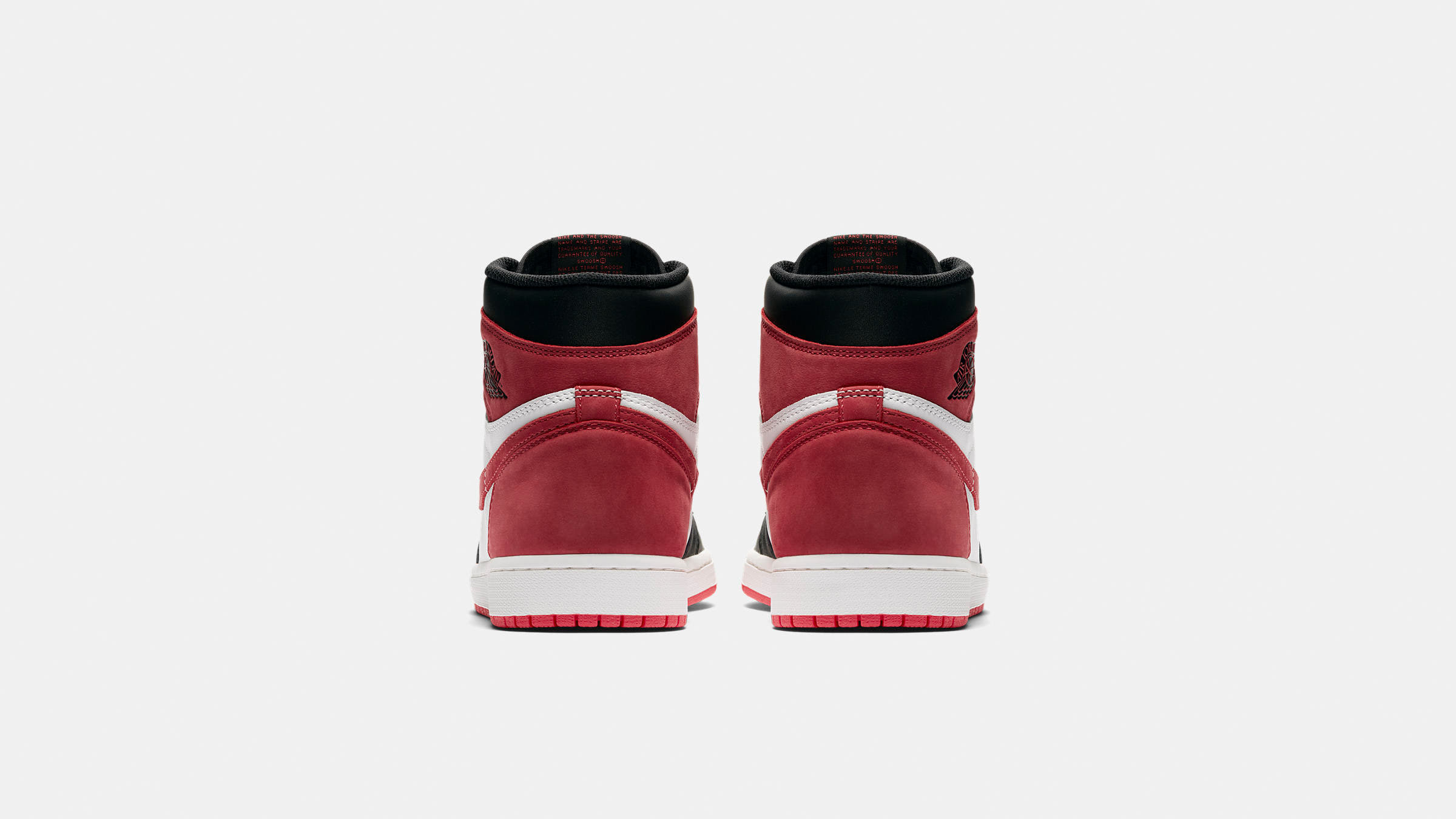 """8061a507b738 Leather Uppers  """"Track Red"""" Suede  Championship Win Printed Insole   Perforations  Encapsulated Air Unit  Rubber Cupsole  Style Code  555088-112"""