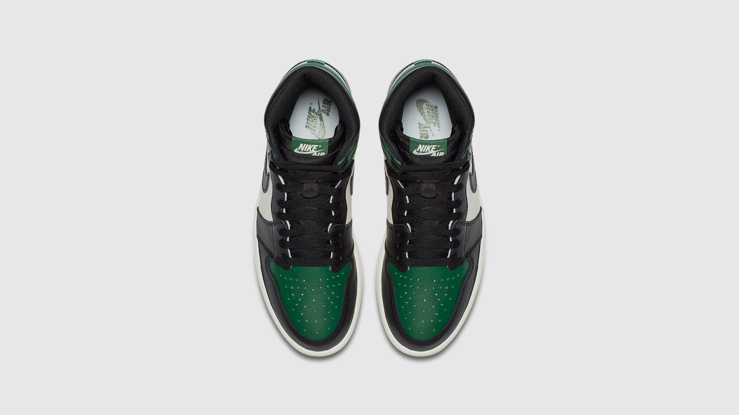 5aadeb77af90 Nike Air Jordan 1 Retro High OG (Pine Green   White)