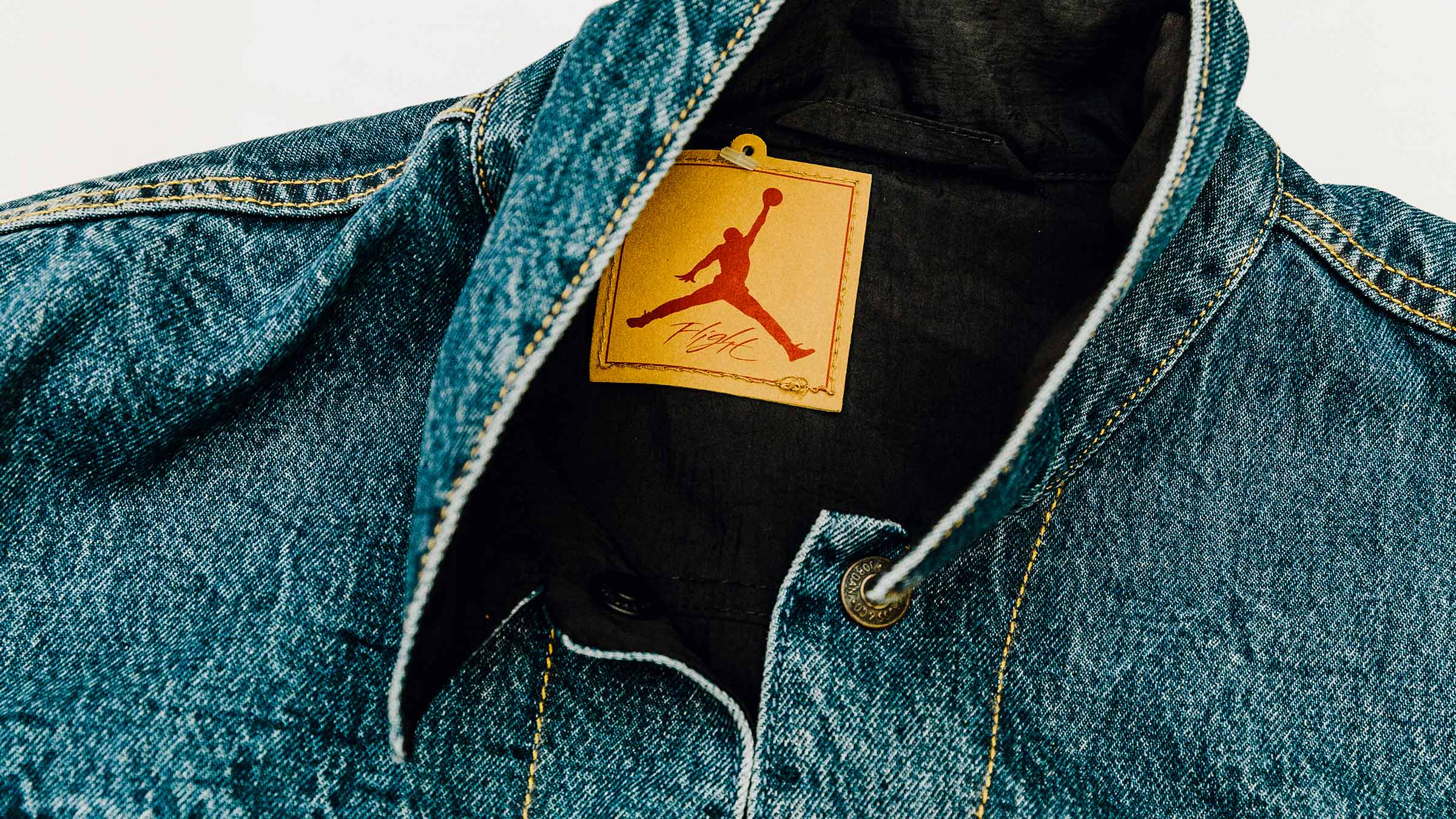 49e00602d9bdc4 Levi s x Air Jordan Reversible Denim Trucker Jacket (Indigo   Red)