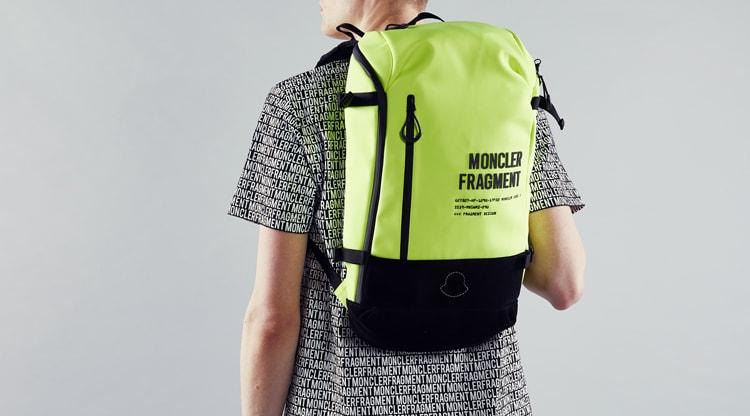 Moncler Genius - 7 Moncler Fragment Hiroshi Fujiwara - Logo Backpack