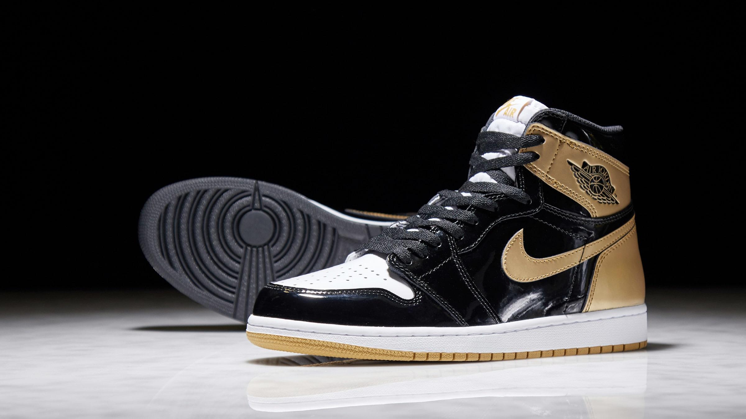 c4eb71a4d93da Nike Air Jordan 1 Retro High OG Energy  Gold Top 3  (Black ...