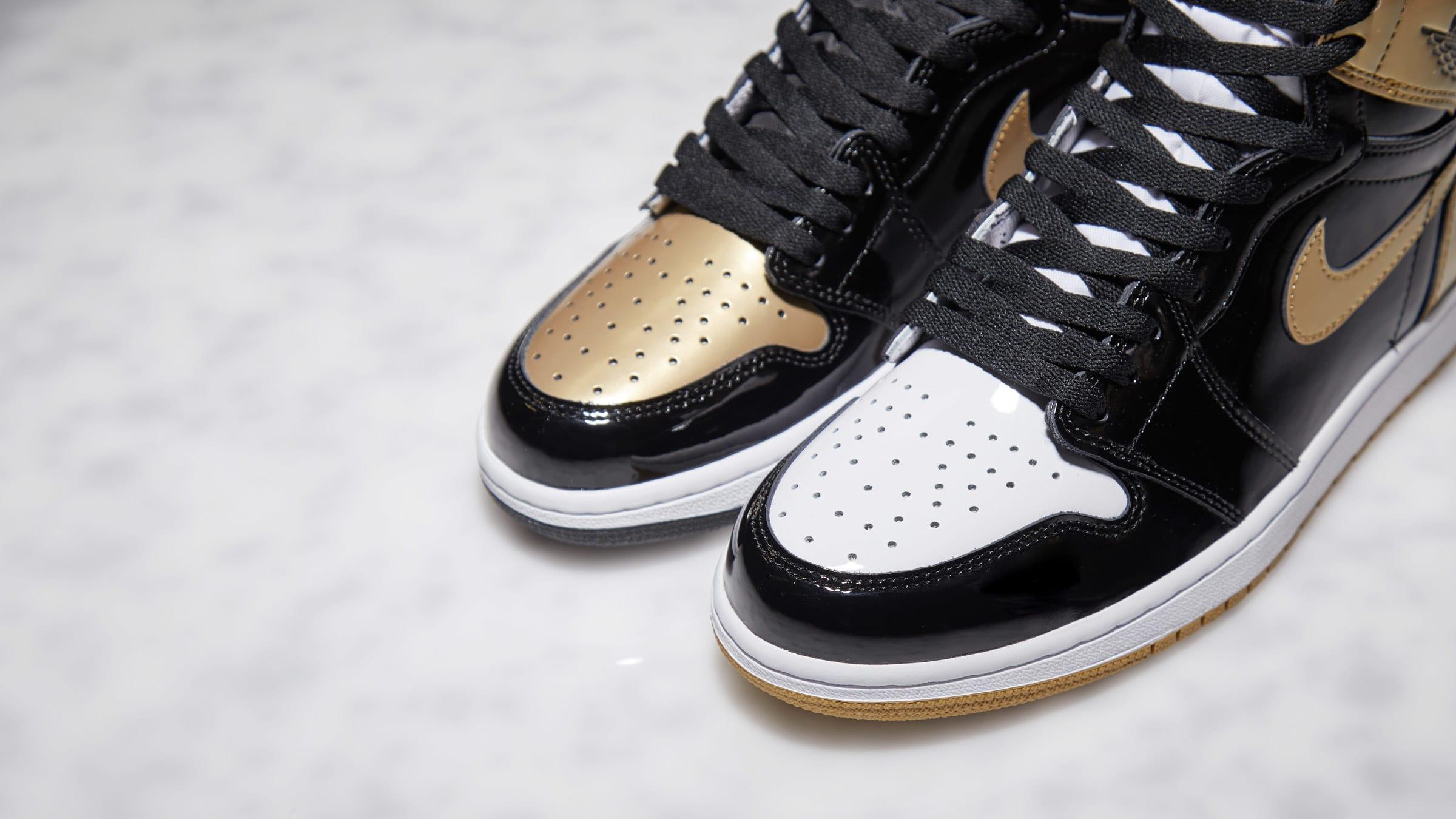 Retro High Top Air Og 3'black 1 Jordan Nike 'gold Energy srQChtd