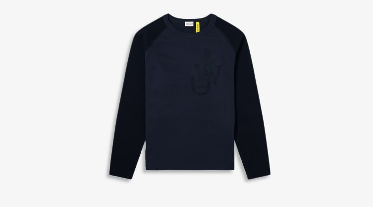 Moncler Genius - 1 JW Anderson Logo Knitted Sleeve Sweat