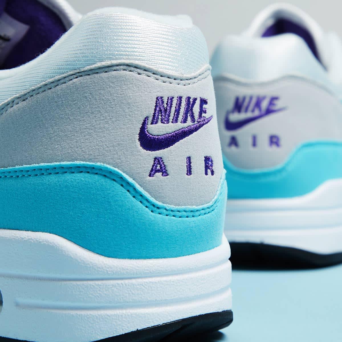 Nike Air Max 1 Anniversary (White, Aqua & Grey)