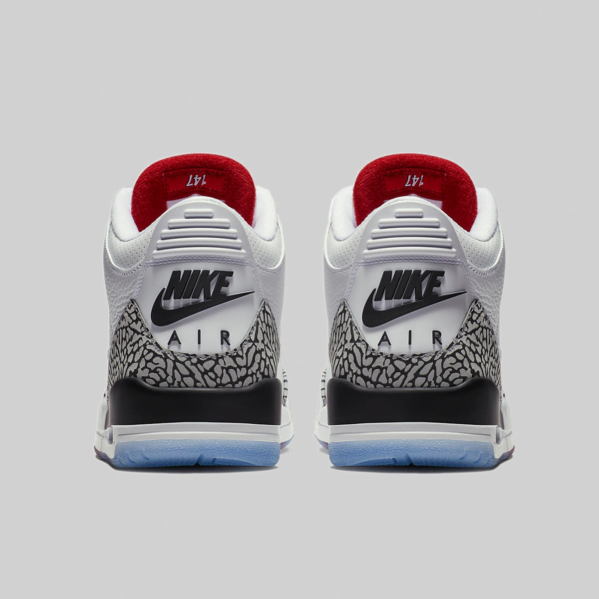 outlet store sale best selling temperament shoes Nike Air Jordan 3 Retro EP (White, Red & Grey)