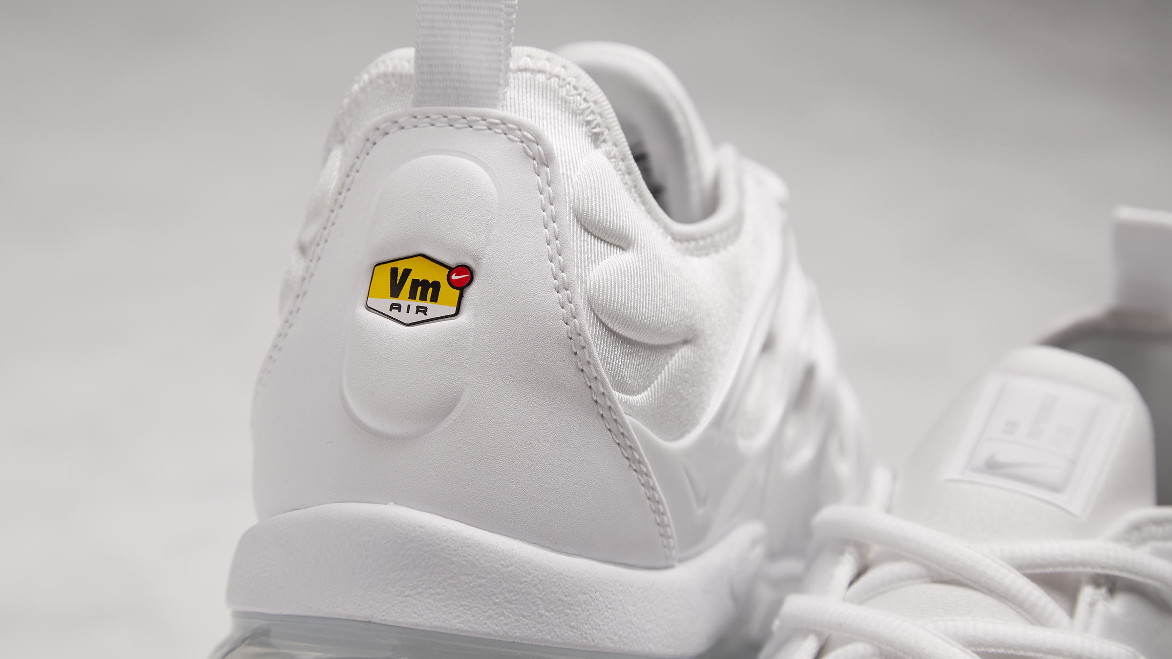 92fe3ab6767 Nike Air Vapormax Plus. White   Pure Platinum£169. like walking on clouds