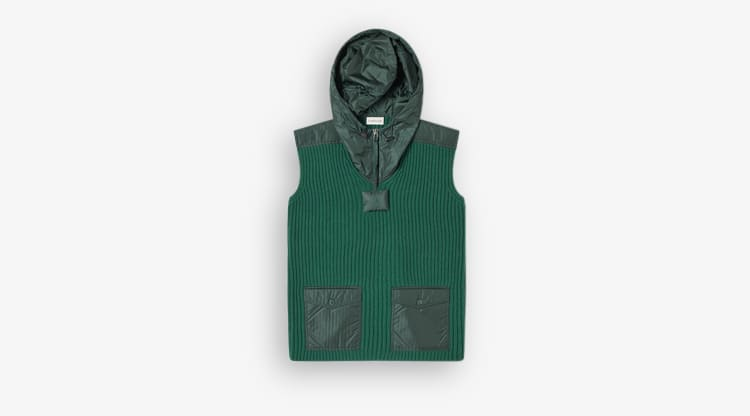 Moncler Genius - 1 JW Anderson Down Hood Knit