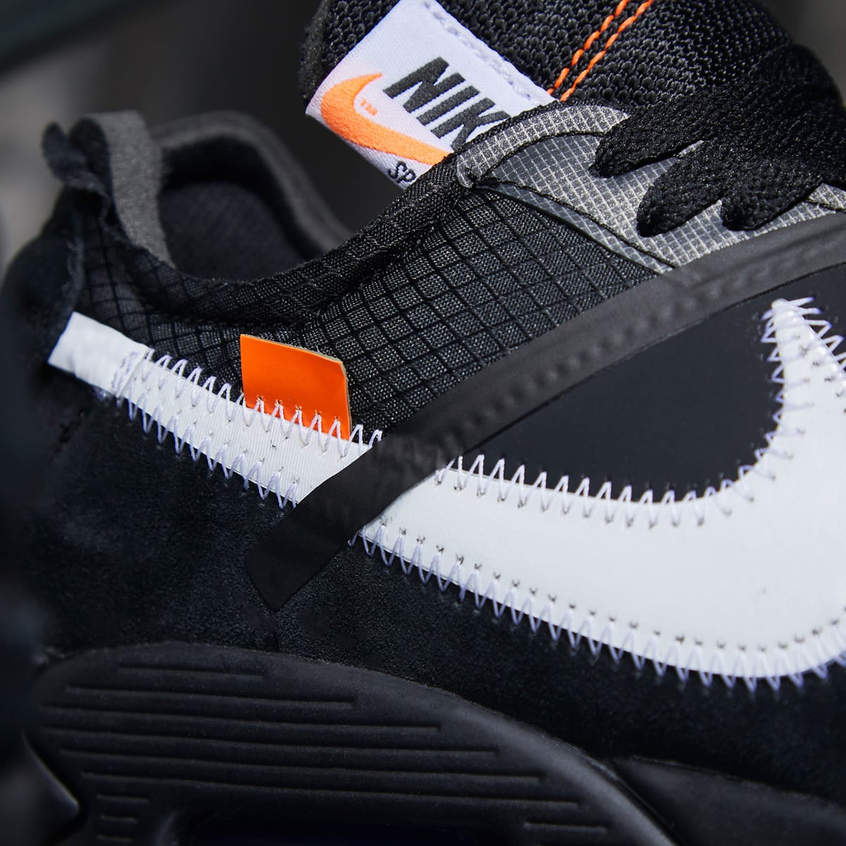 online store 2410f 32166 The Ten : Nike Air Max 90 x Virgil Abloh (Black & White)