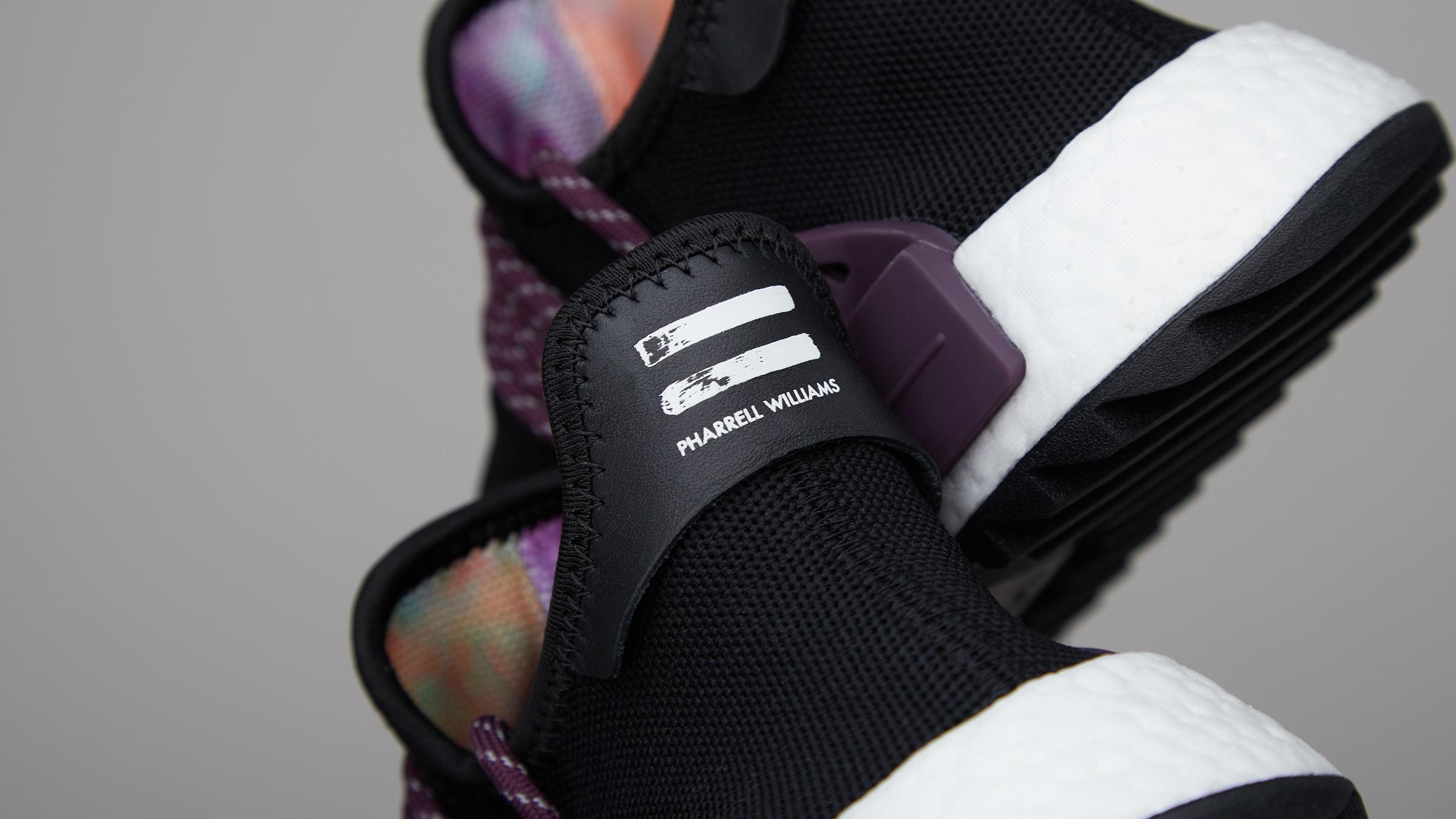 2adc3990a Adidas x Pharrell Williams HU NMD  Holi Powder Dye  (Black   Purple)