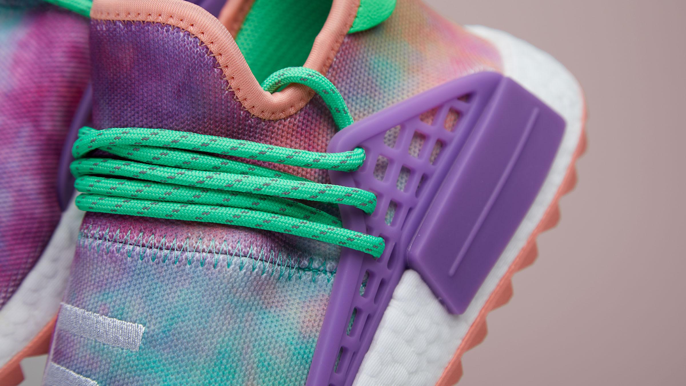 cd3908302c8f6 Adidas x Pharrell Williams HU NMD  Holi Powder Dye  (Chalk Coral)