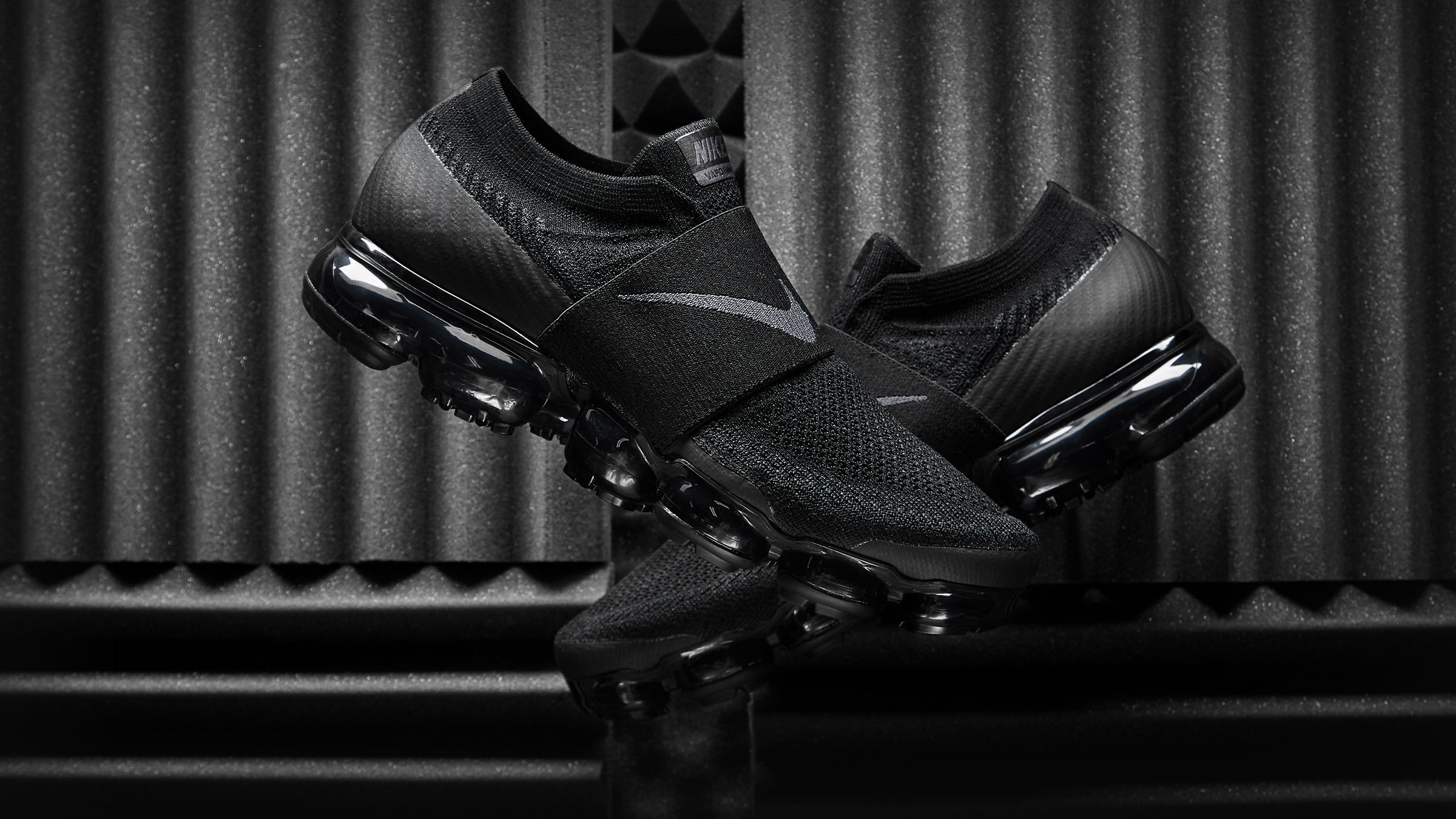 d38f3a49dc Nike Air Vapormax Flyknit Moc (Black & Anthracite)