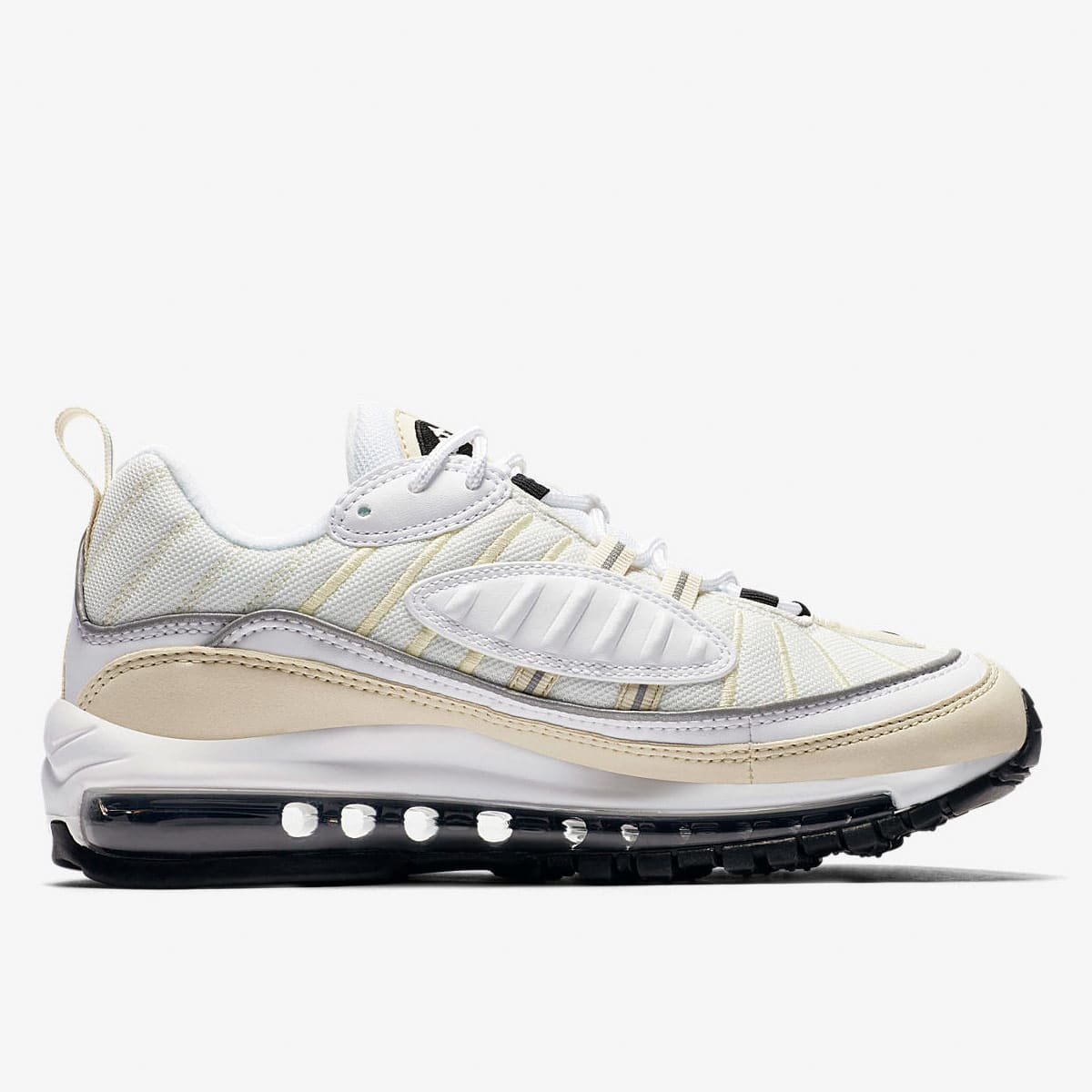 Nike Air Max 98 W (White, Black, Fossil & Silver) | END. Launches