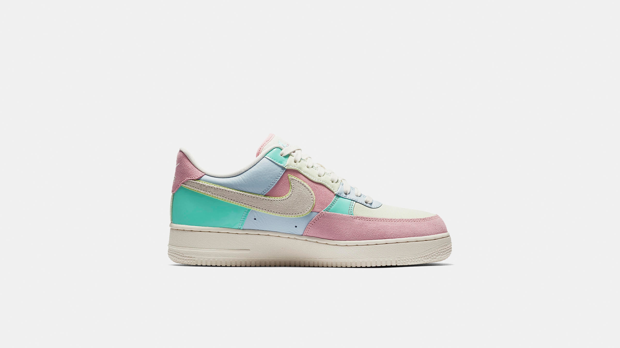 size 40 183e8 1feed Nike Air Force 1  07 QS. Ice Blue, Sail   Turquoise£115. bring ice-cream  tones into your spring wardrobe