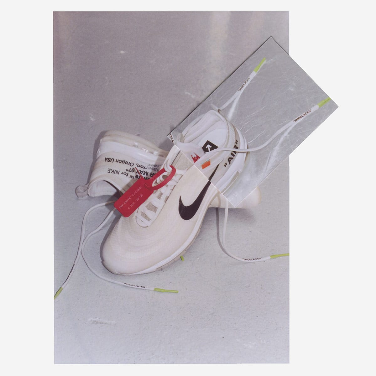 END. Features | The 10 : Nike Air Max 97 OG x Virgil Abloh