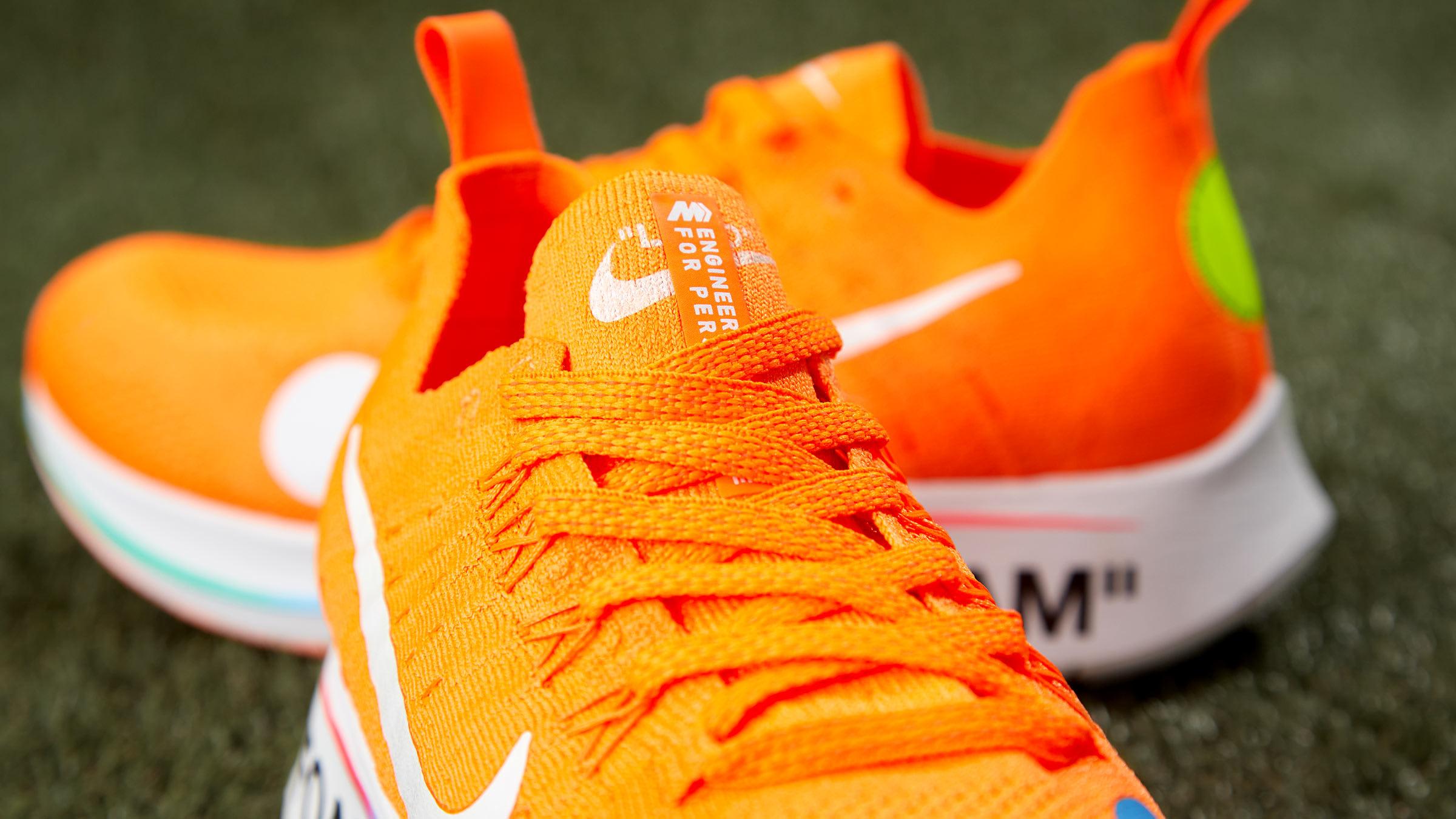 336633f77826 Nike x Off-White Zoom Fly Mercurial Flyknit (Orange
