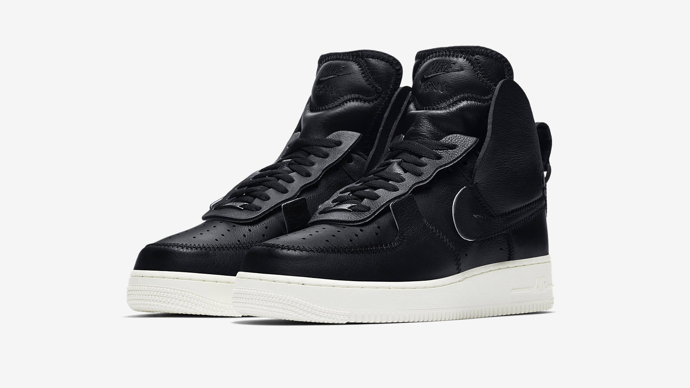 official photos ab4a5 b1760 Nike Air Force 1 High PSNY