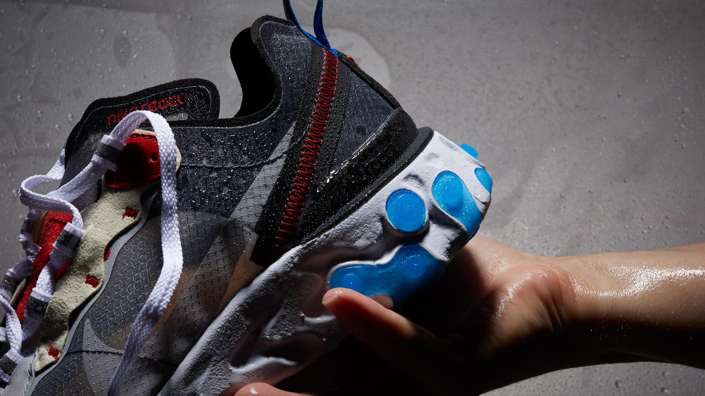 cc3ead9bcce01 Nike React Element 87. Dark Grey   Pure Platinum ...