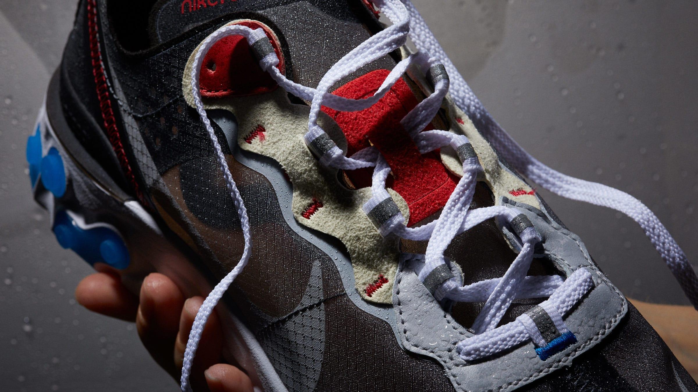 a0110b653afc Nike React Element 87. Dark Grey   Pure Platinum ...
