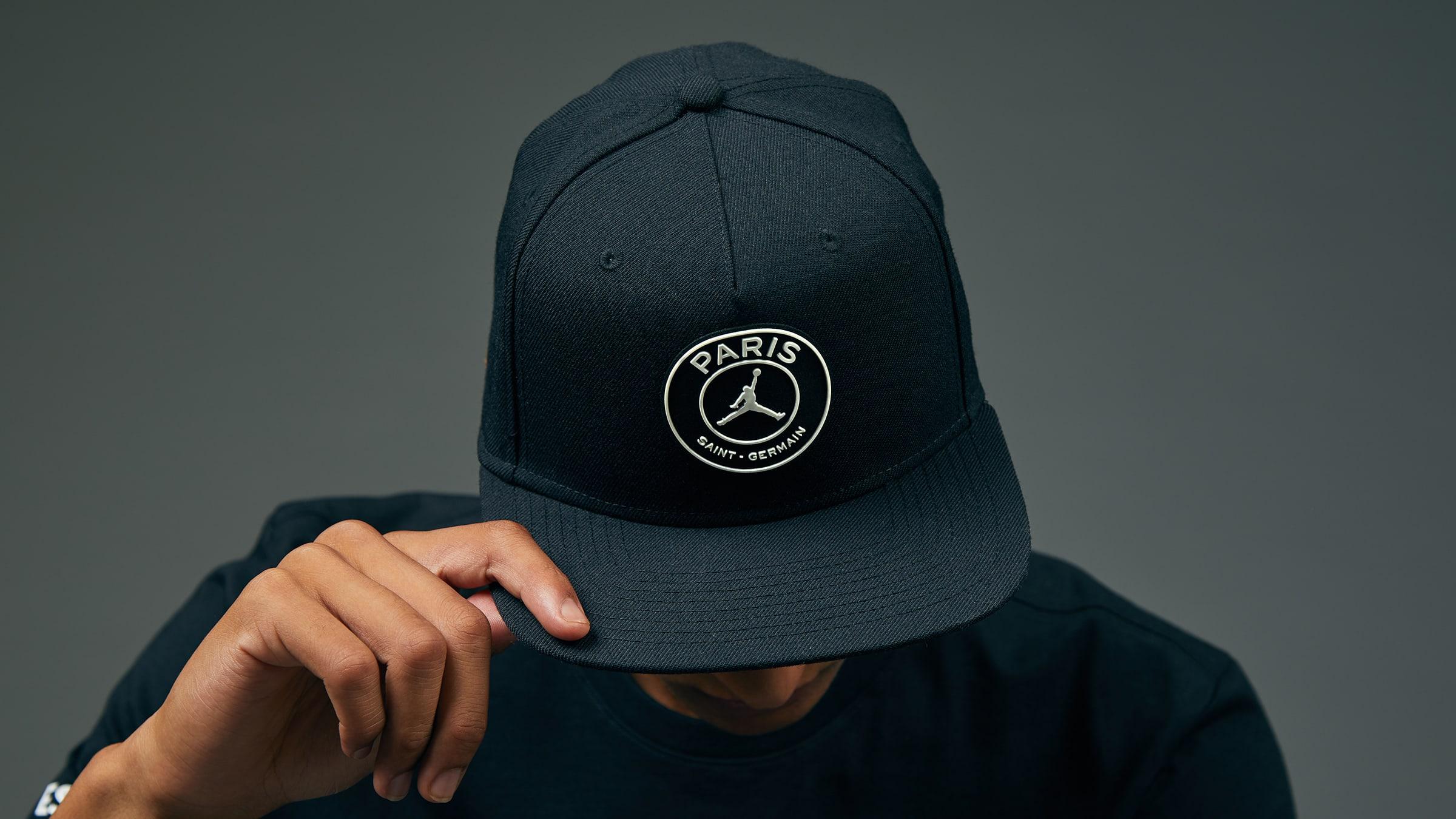dc9e9c0499e Jordan x Paris Saint-Germain Pro Cap (Black)
