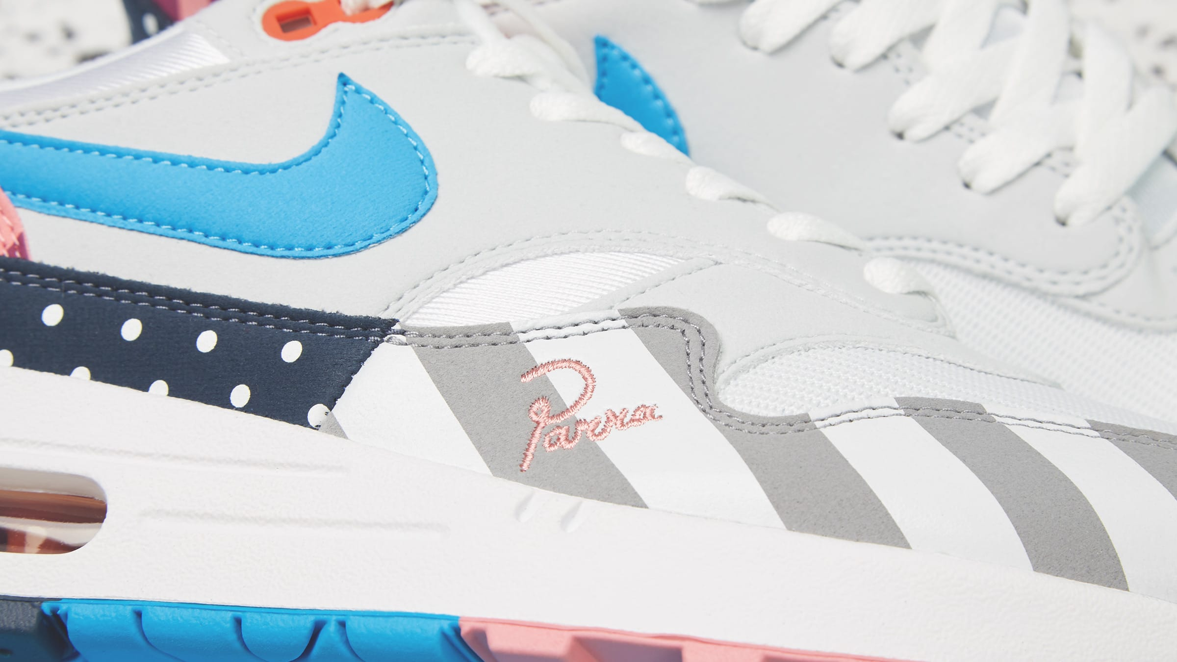 100% authentic 6419d 0afca Nike x Parra Air Max 1. White   Multi£119
