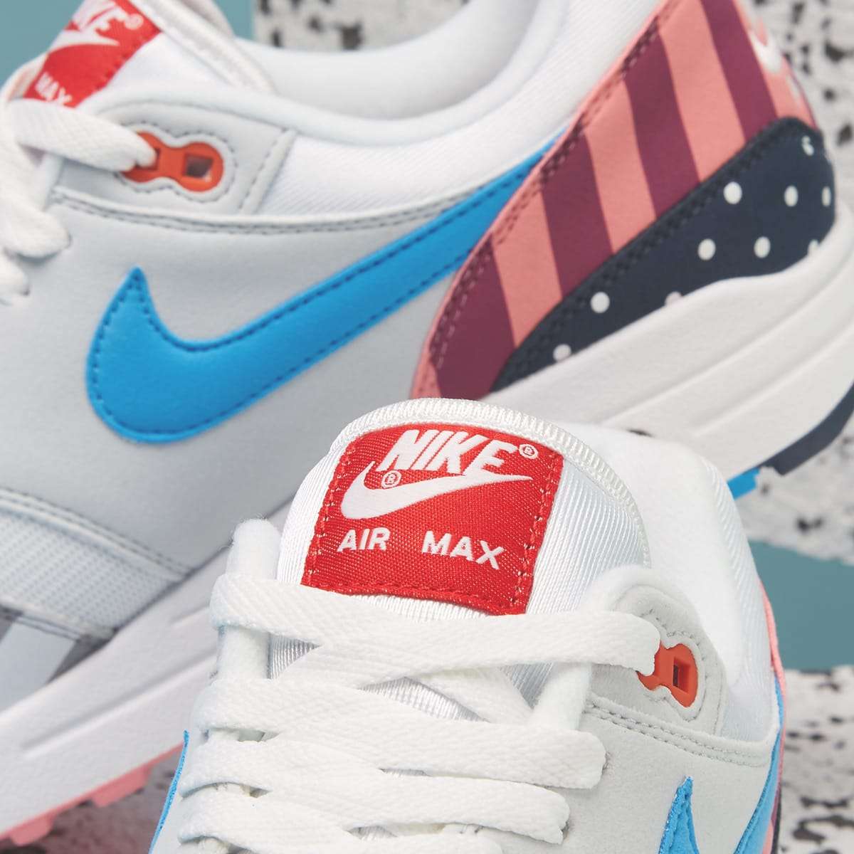 check out 36337 56fa1 Nike x Parra Air Max 1 (White & Multi)