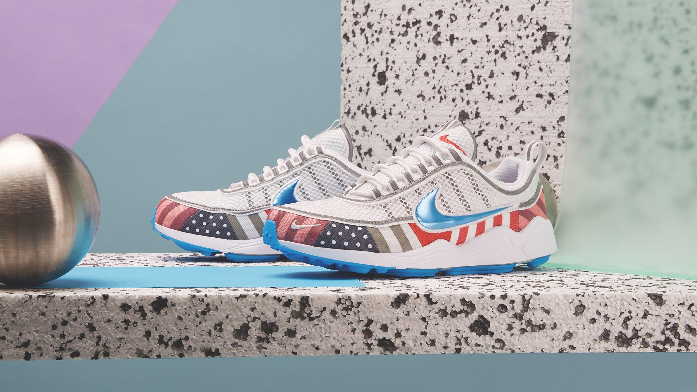 Nike x Parra Air Zoom Spiridon (White & Multi)