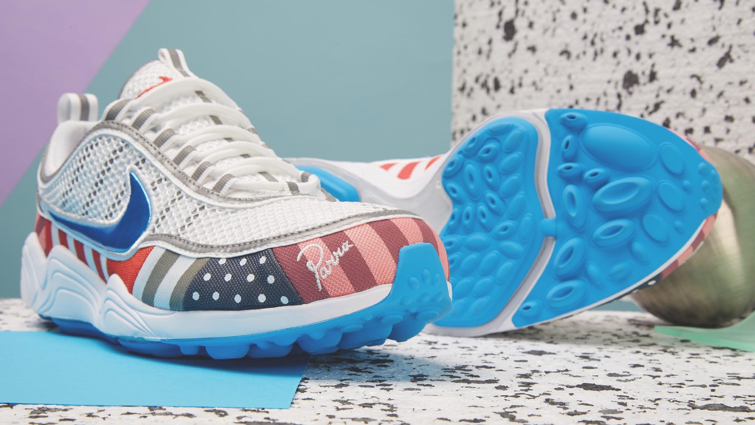 8c8d08adf84bb Nike x Parra Air Zoom Spiridon (White   Multi)