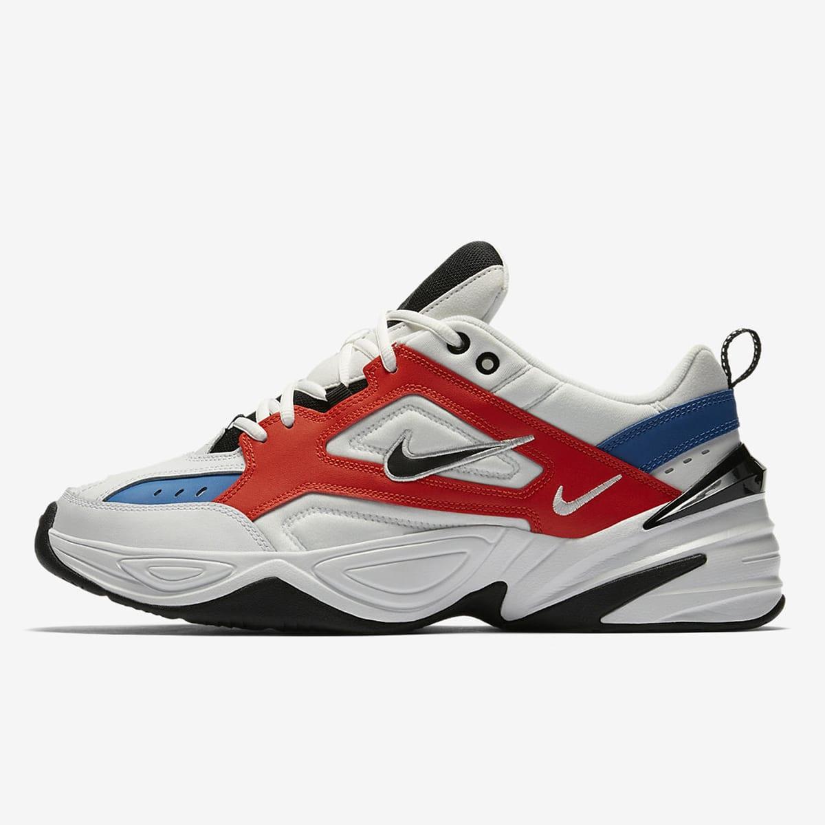 Nike M2K Tekno (White, Black, Orange \u0026 Blue)