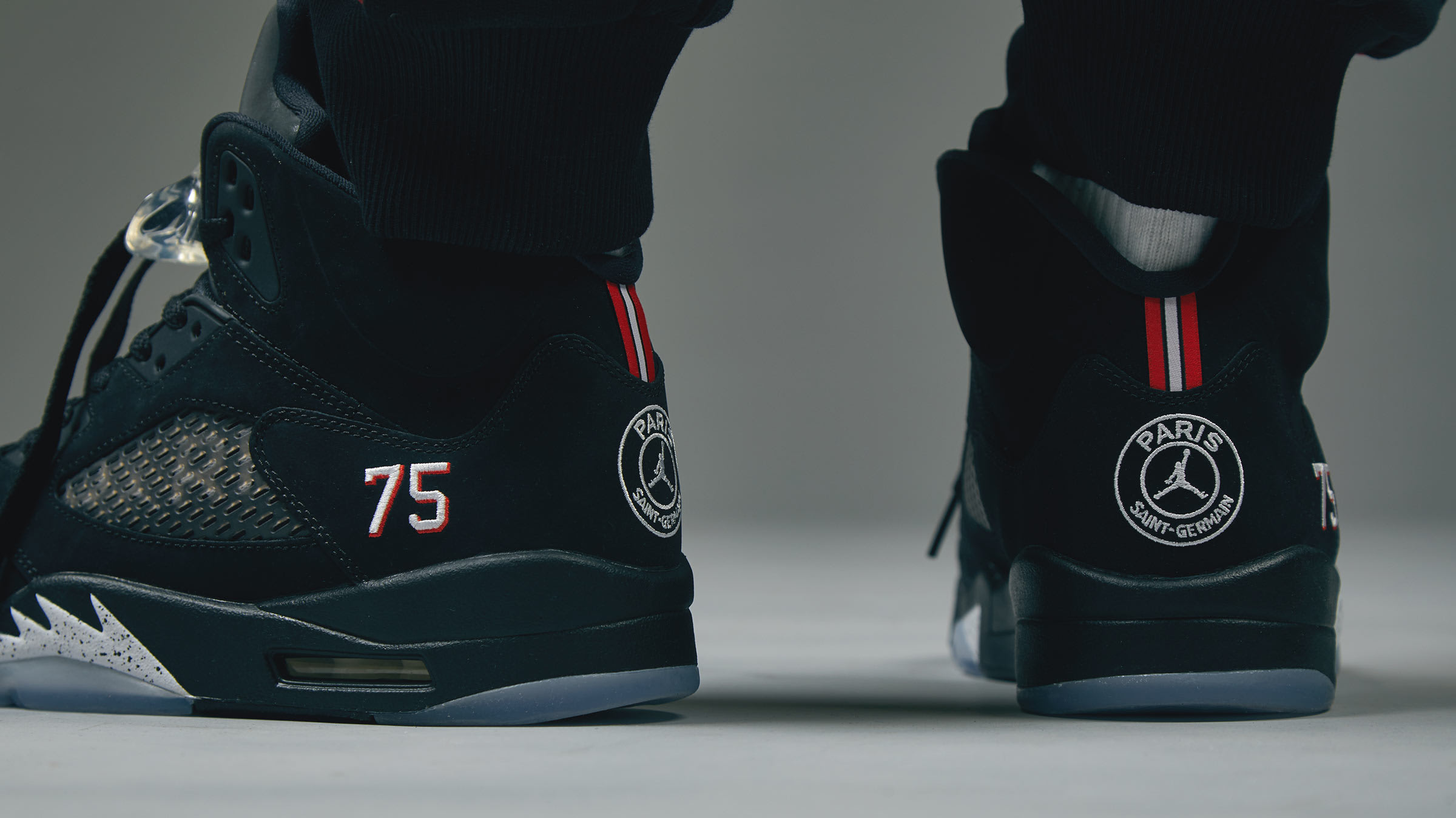 new concept 50246 2bd88 Jordan x Paris Saint-Germain Air Jordan 5 Retro. Black£169