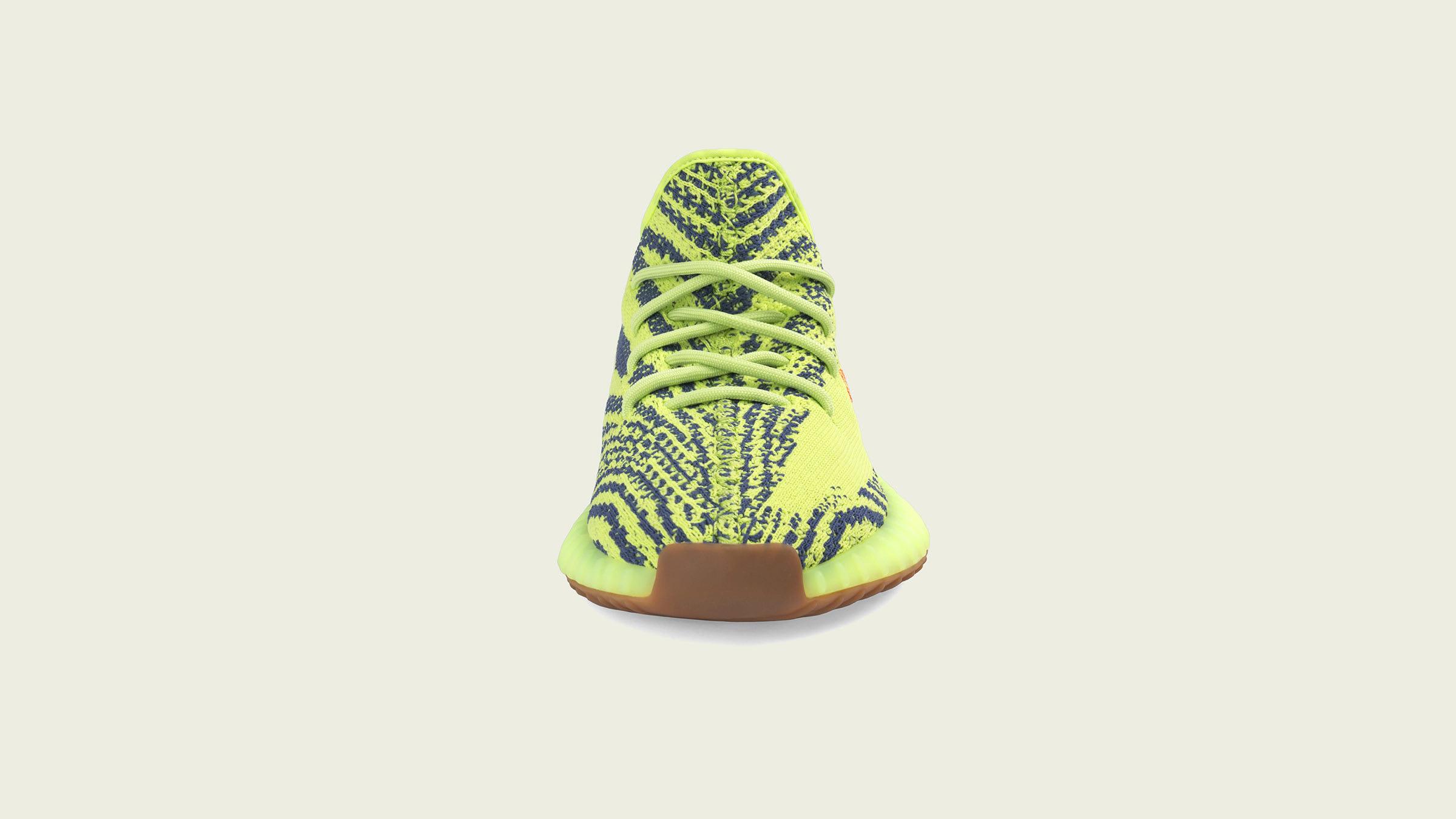 dfda3b2b07739 Adidas Yeezy Boost 350 V2 (Semi Frozen Yellow   Raw Steel)