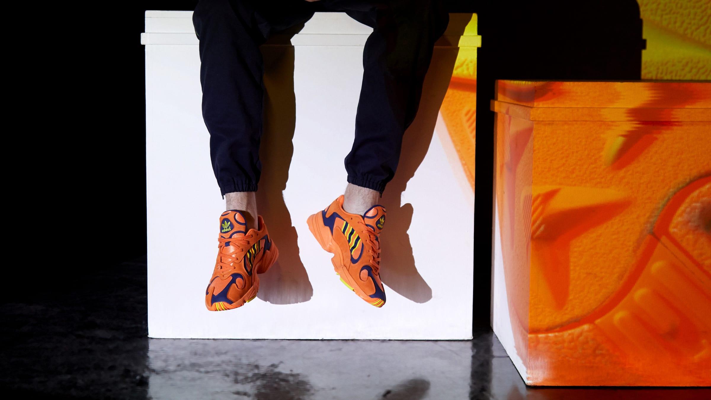 31b651991a4b Adidas Yung 1. Hi-Res Orange   Shock Yellow£99