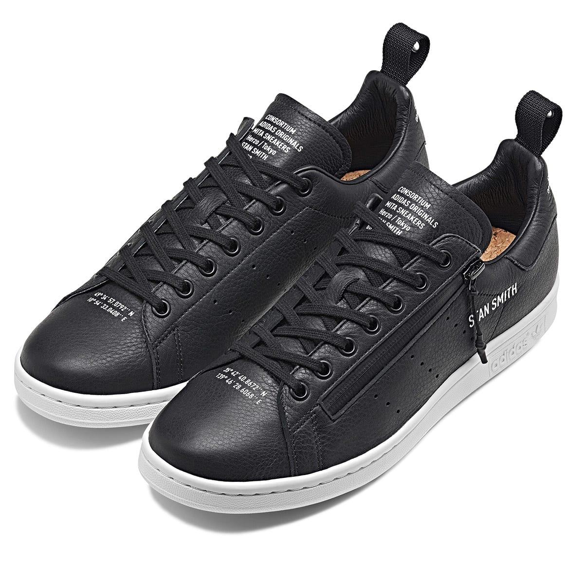 official photos ce452 51bbc Adidas x Mita Stan Smith (Core Black & White)