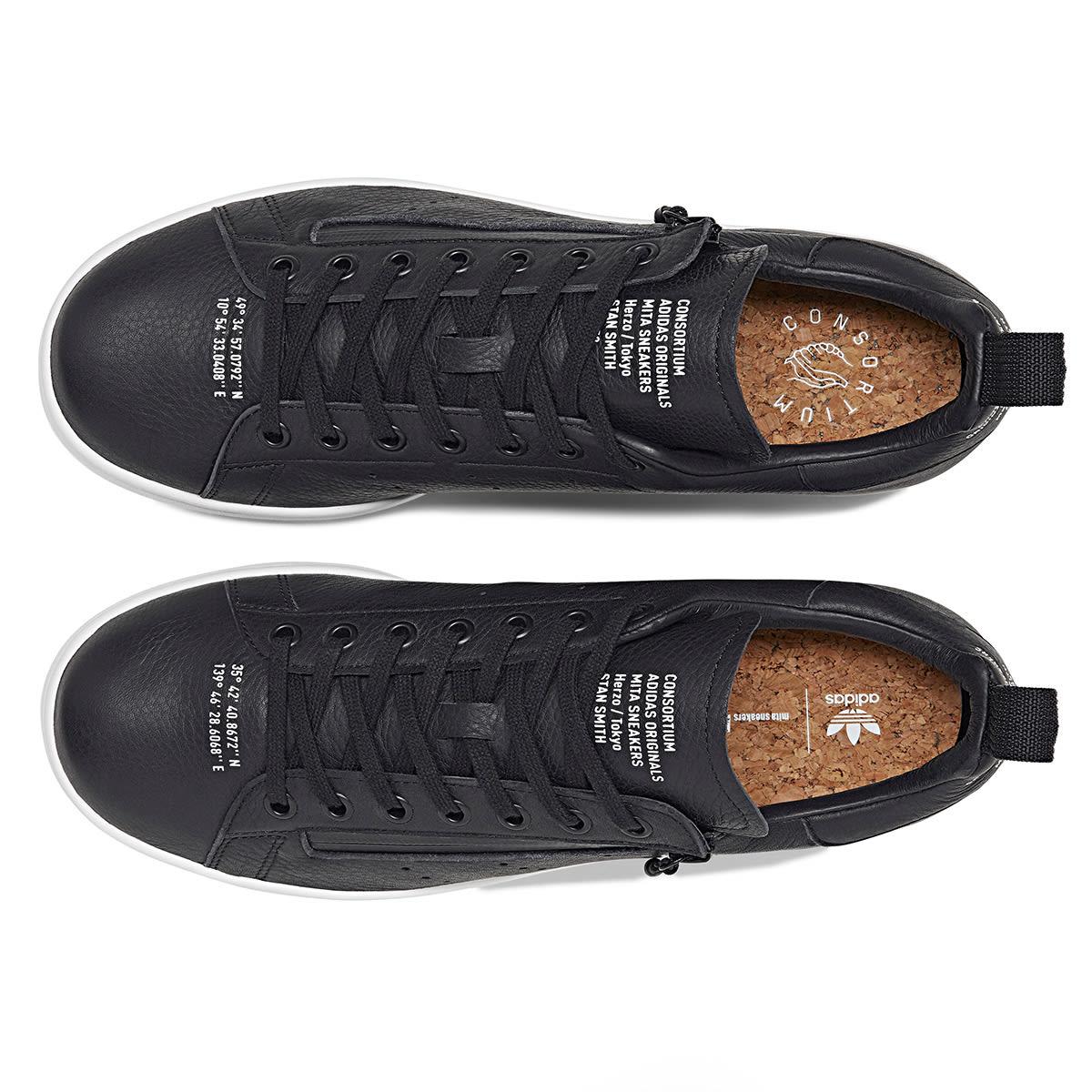 official photos 64968 bd4ec Adidas x Mita Stan Smith (Core Black & White)