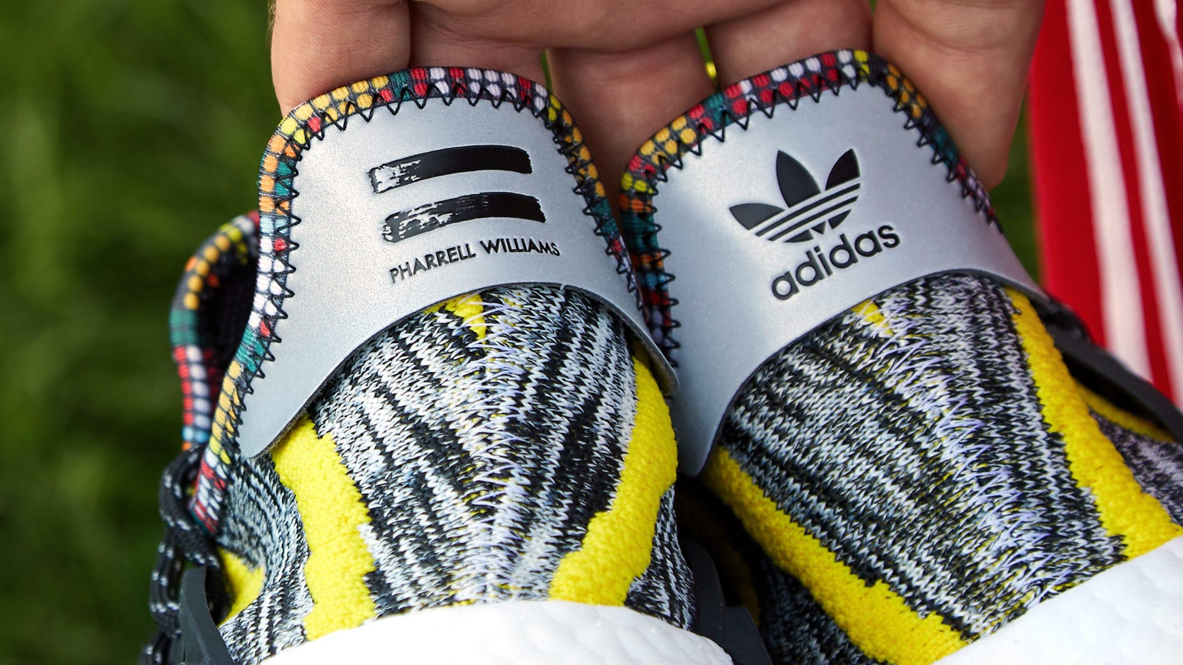 447312e1987db Adidas Originals by Pharrell Williams SOLARHU NMD (Yellow