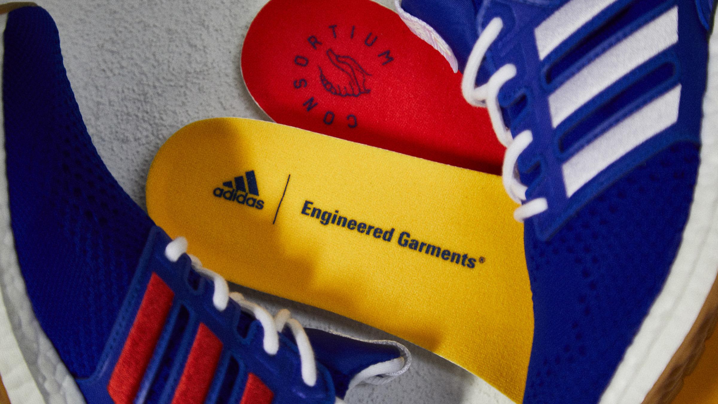 246848b638675 Adidas Consortium x Engineered Garments Ultra Boost (Blue