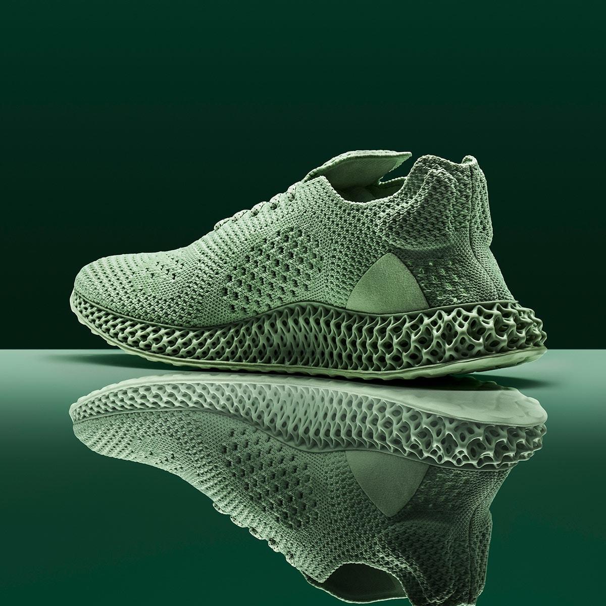 check out 9d094 1560e Adidas Consortium x Daniel Arsham Future Runner 4D (Aero Green)
