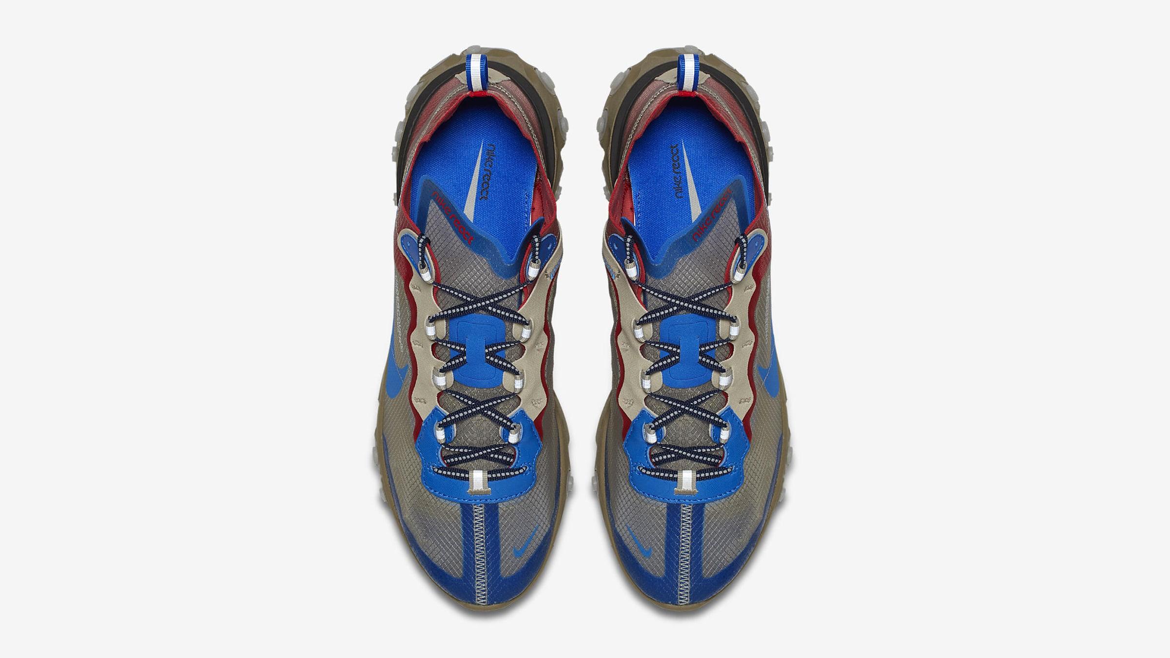 5e72174d123d Nike x Undercover React Element 87 (Beige Chalk   Signal Blue)