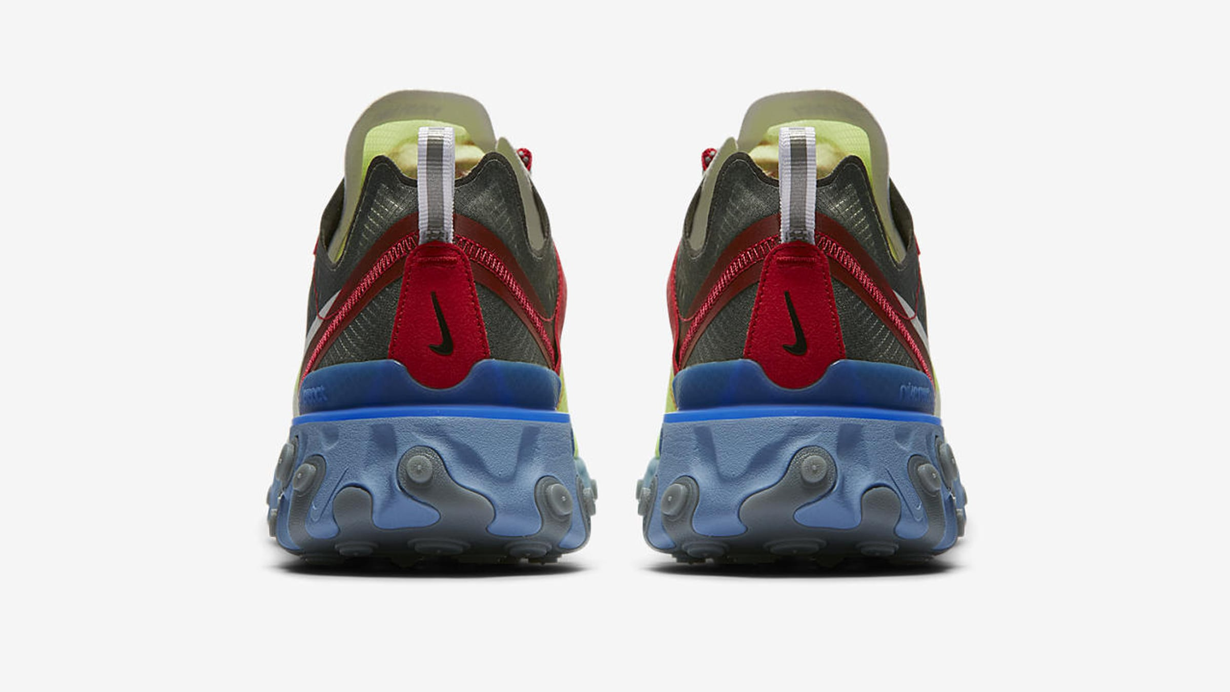 """086281c26860 Translucent TPE Uppers  """"UNDERCOVER Jun Takahashi""""  React Foam Cushioning   Rubber Outsole  Style Code  BQ2718-700"""