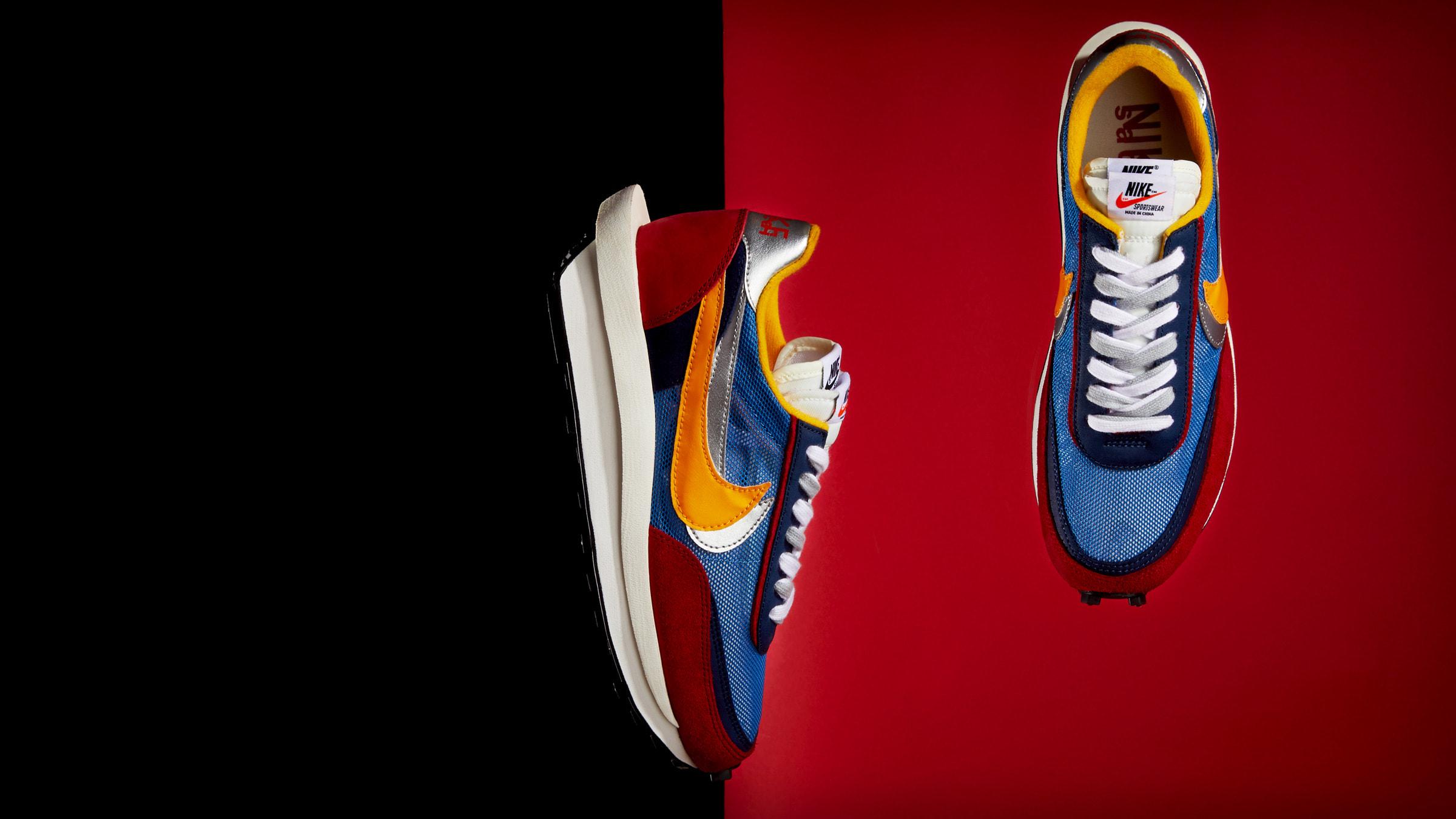 Nike x Sacai LDWaffle (Varsity Blue