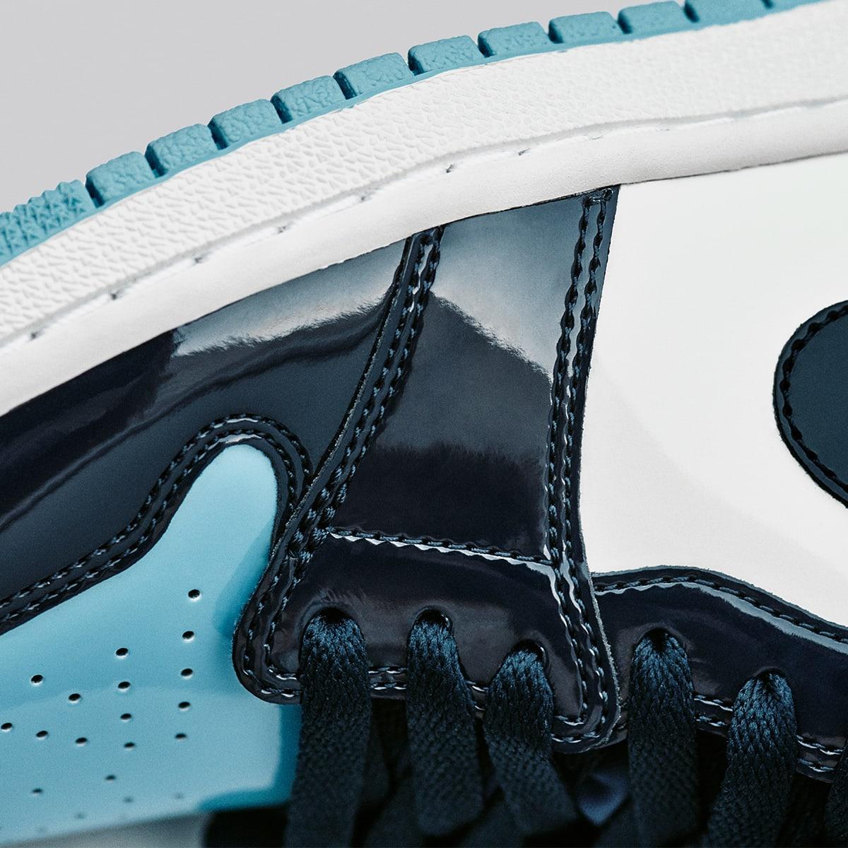 Air Jordan 1 Retro High OG W (Obsidian, Blue Chill & White)