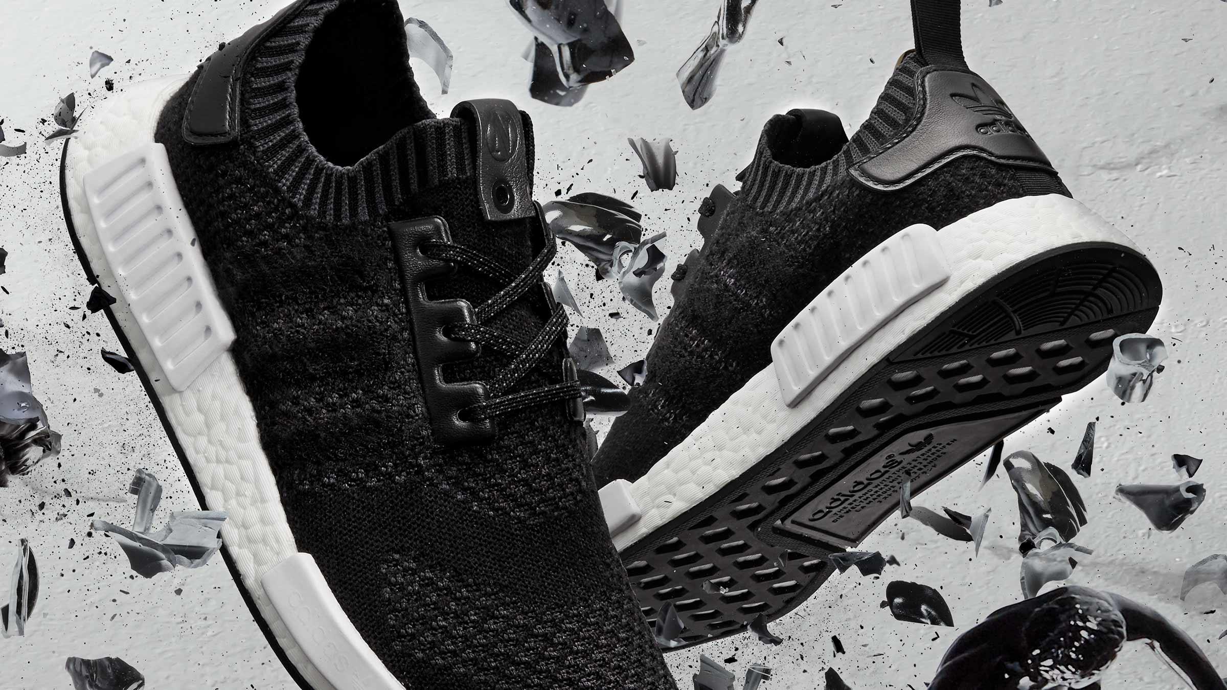 a372c3ac5d9a9 Adidas Consortium x A Ma Maniere x Invincible NMD R1 (Black)