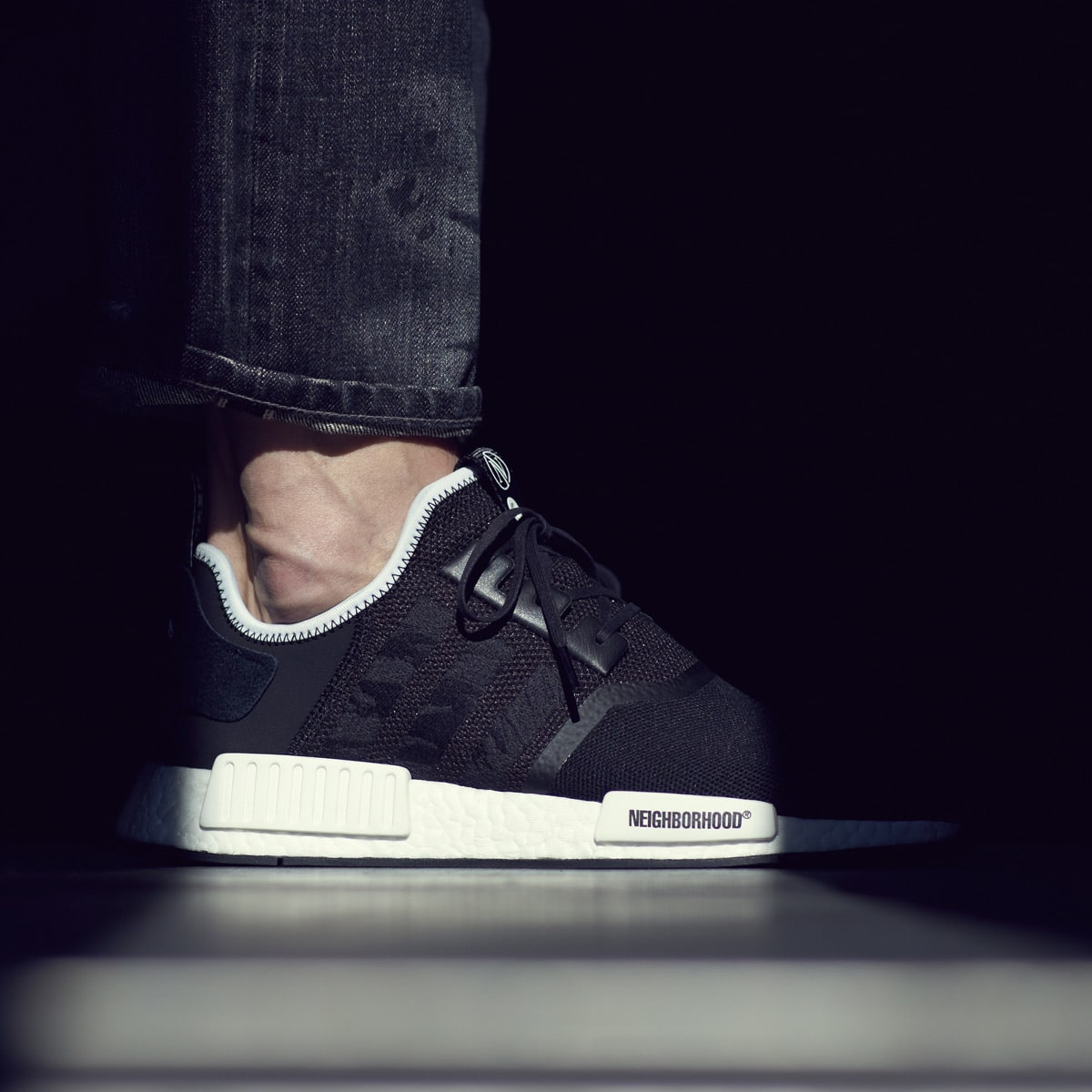 huge discount 852b9 74488 Adidas Consortium x Invincible x Neighborhood NMD R1 (Black)