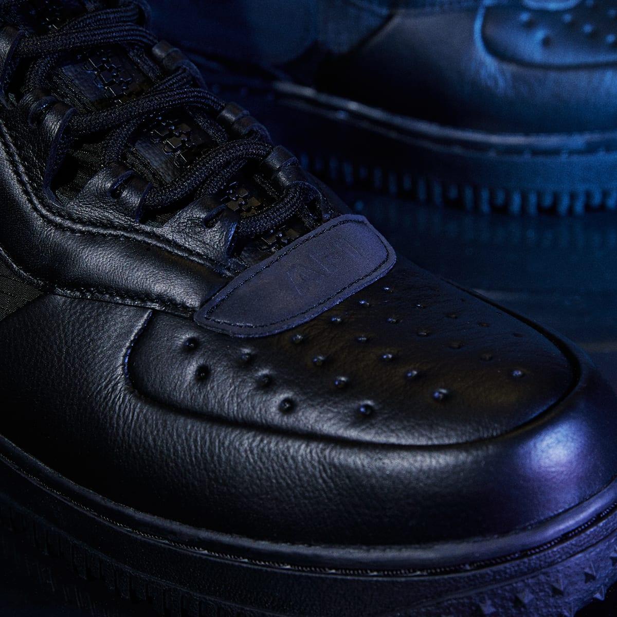 Nike Air Force 1 WTR GTX (Black & Anthracite)