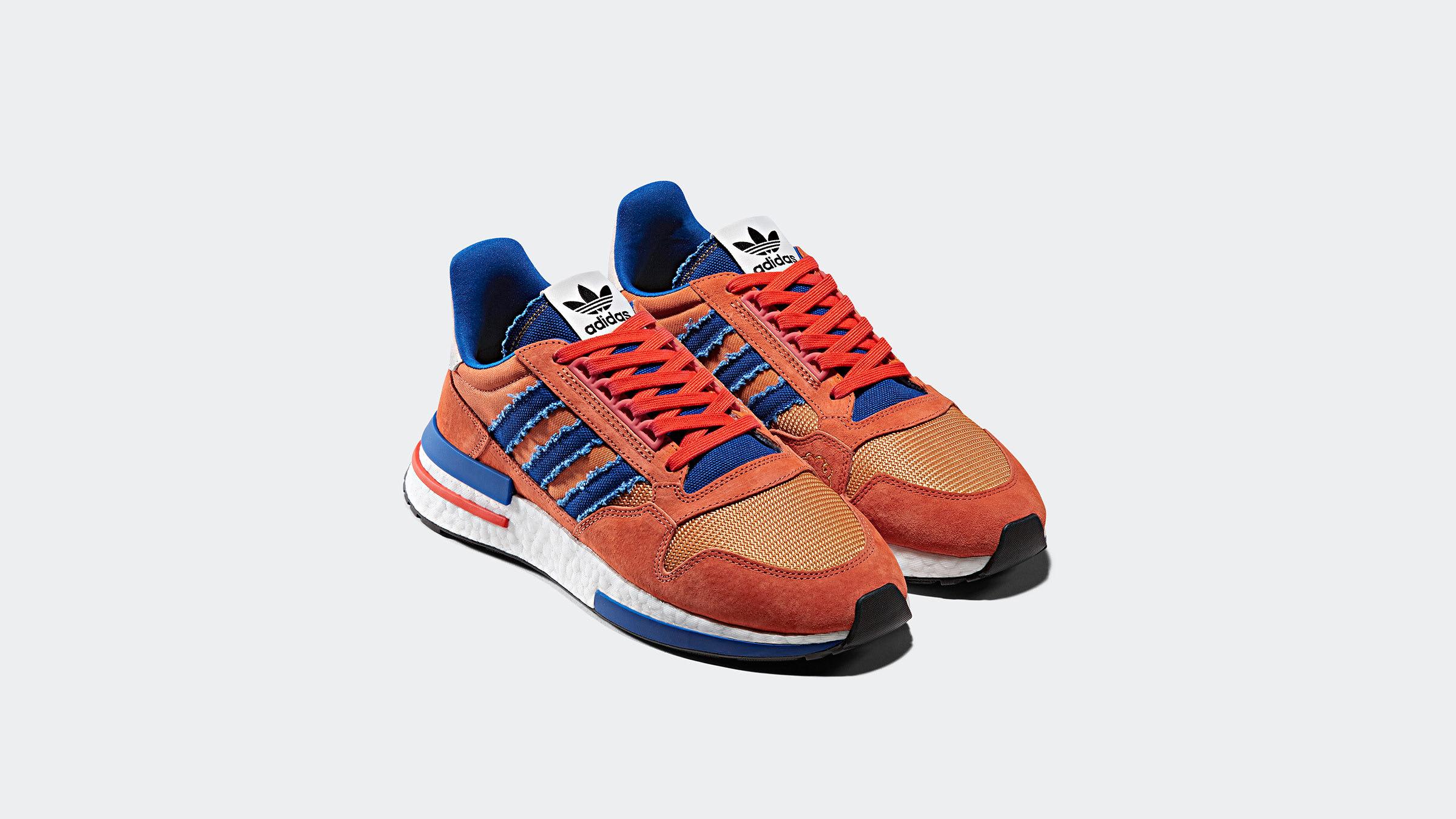 b1a01fa385abe Adidas x Dragonball ZX 500 RM  Son Goku  (Orange