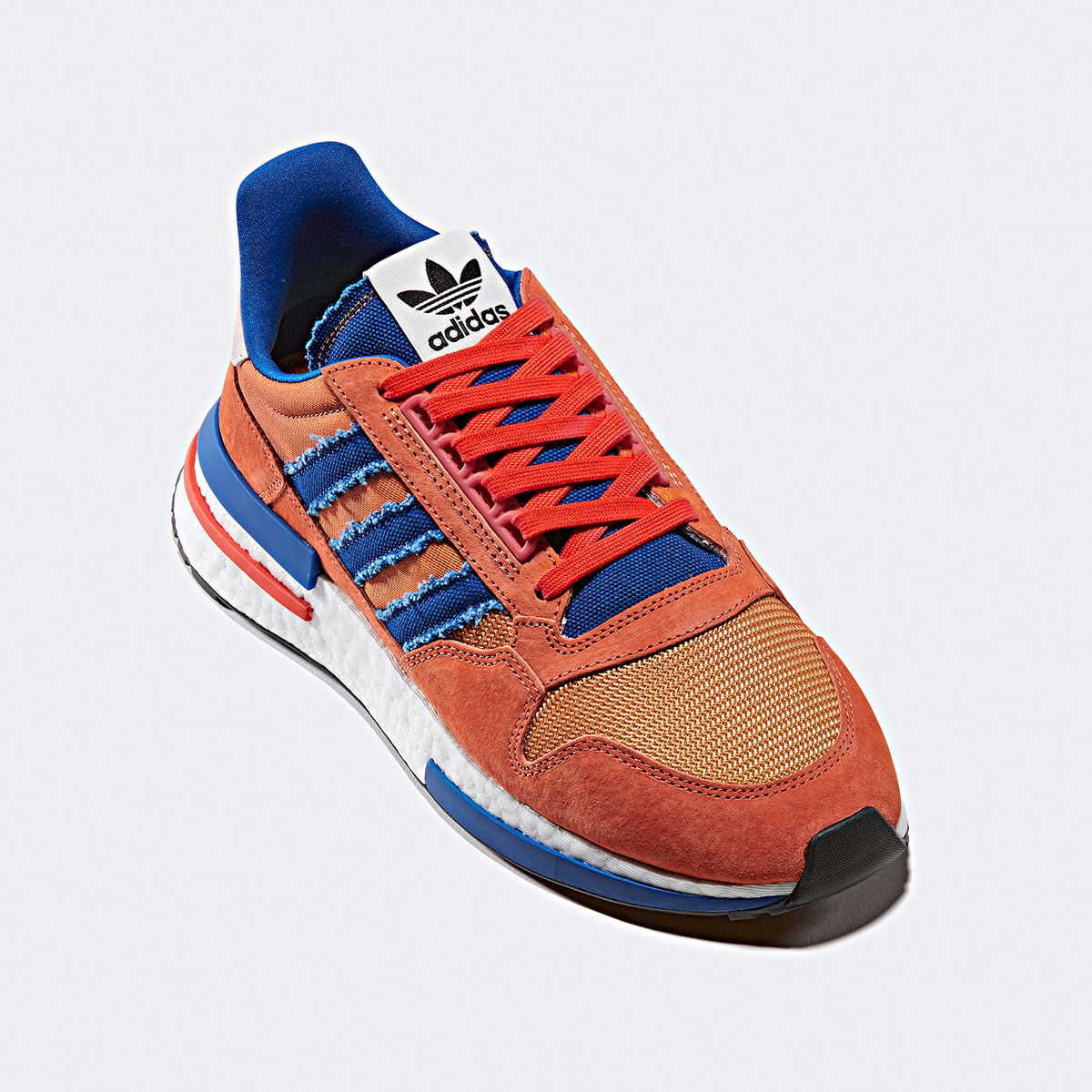 best website 1712c 7291b Adidas x Dragonball ZX 500 RM 'Son Goku' (Orange, Collegiate ...