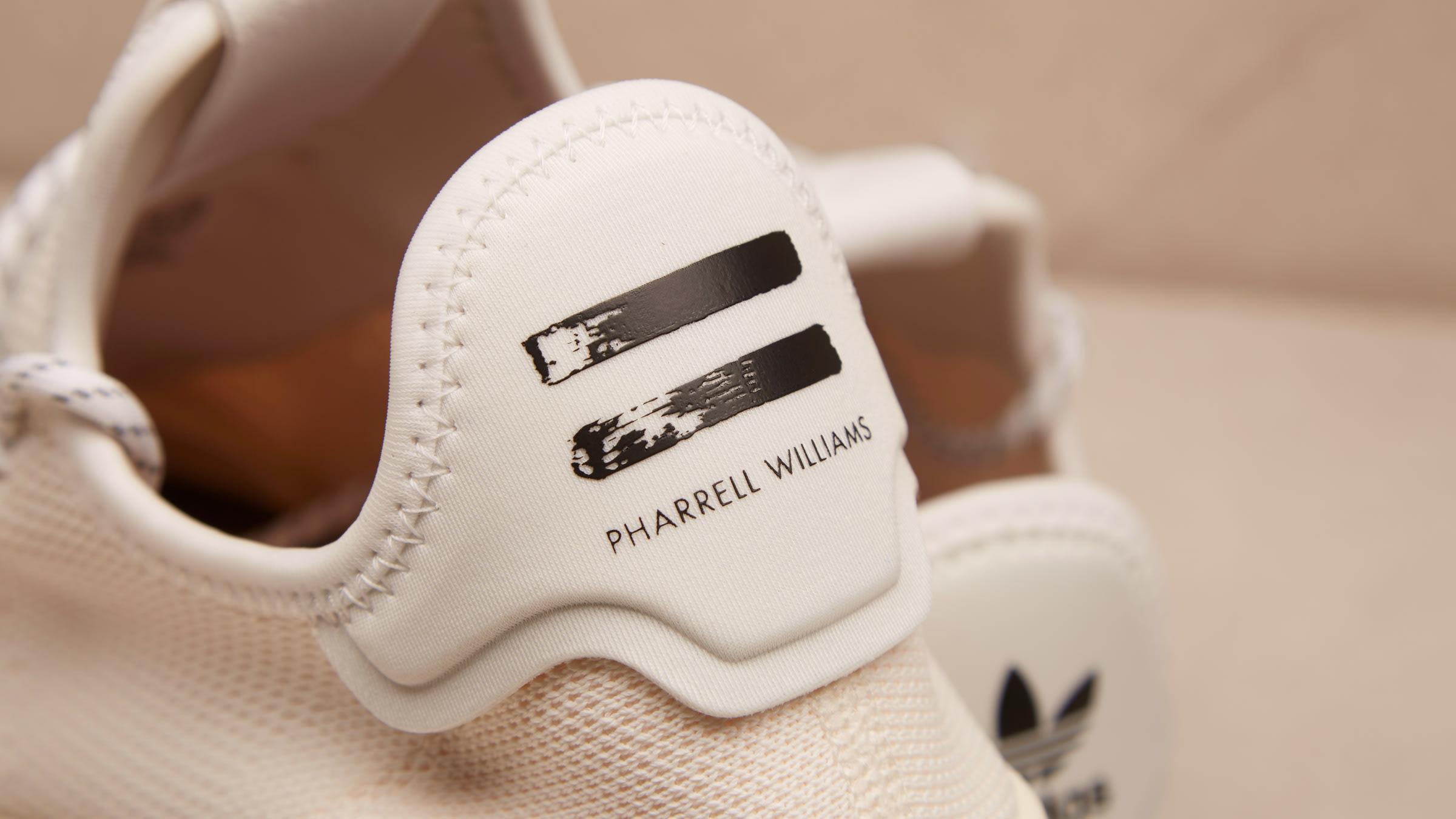 5eb88a0b3 Adidas x Pharrell Williams HU Holi Tennis H (Cream   White)