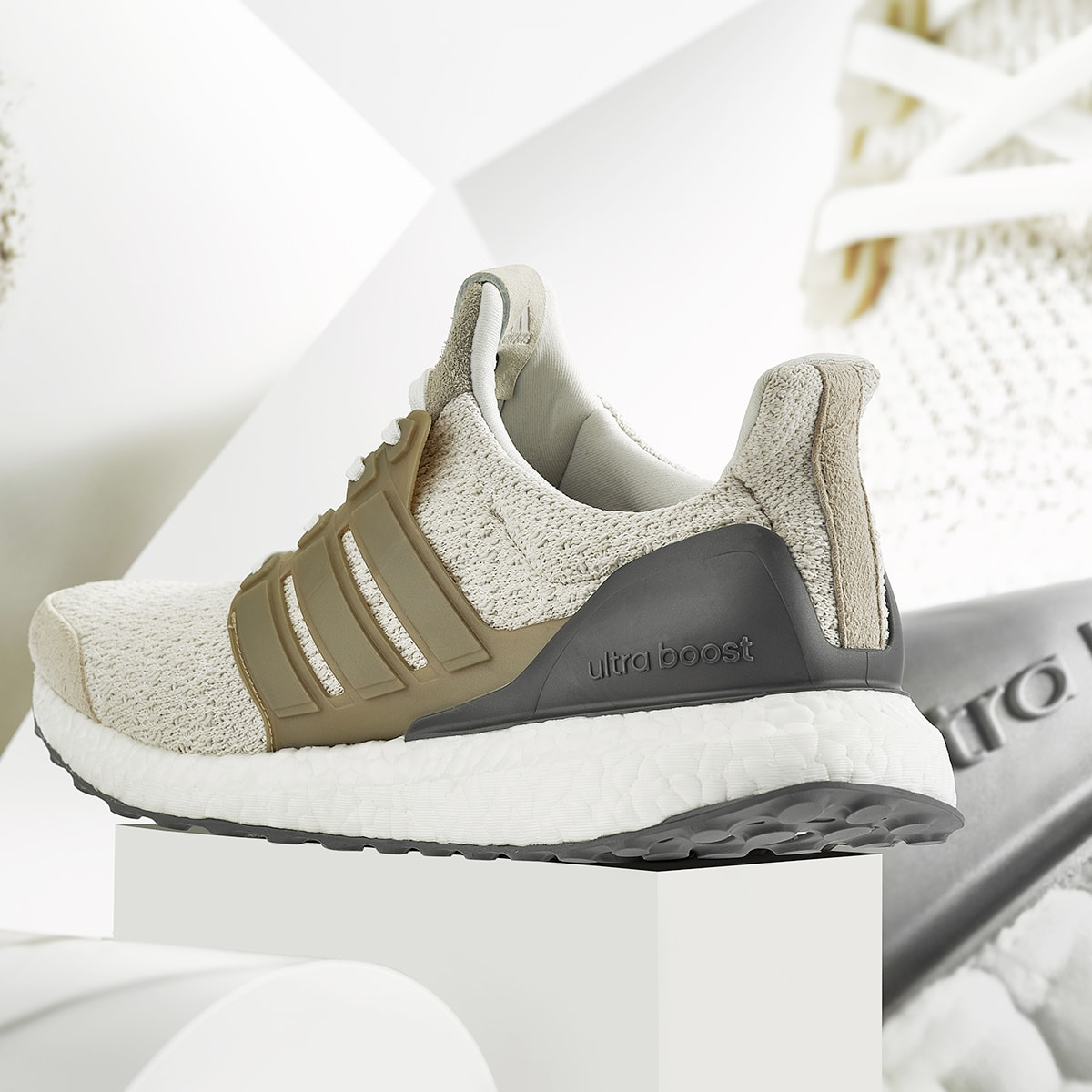 adidas Consortium UltraBoost Lux Vintage White | Footshop